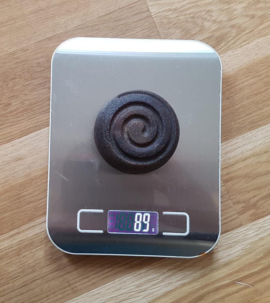 Seifenform Spirale - Gewicht