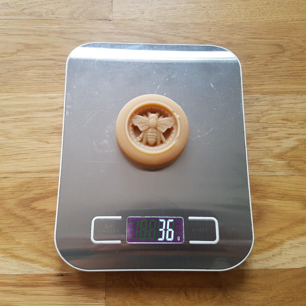Silikonform Biene Gewicht