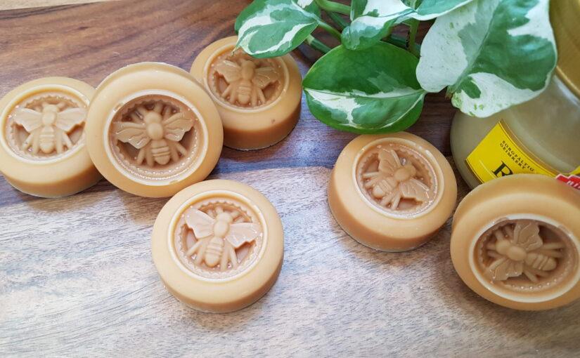 """Seifenform """"Biene"""" – für süße Honigseifen"""