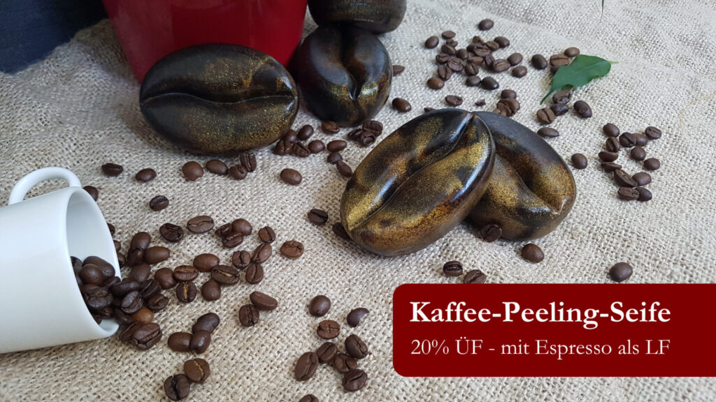 Rezept Kaffee-Peeling-Seife