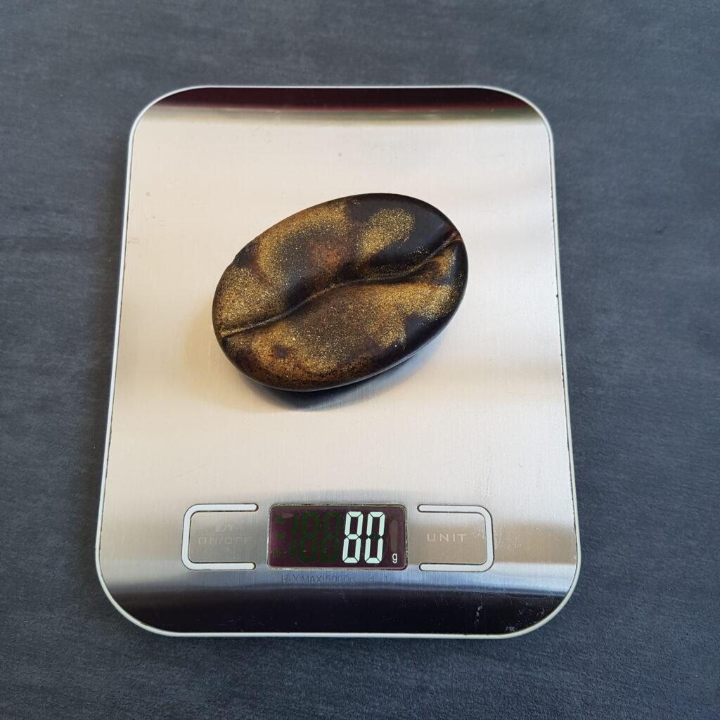 Seife Kaffeebohne Gewicht