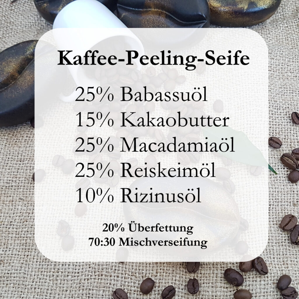 Kaffeeseife Rezept