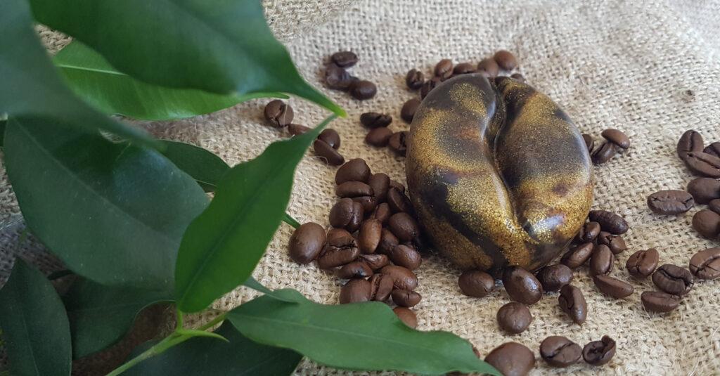 Kaffee-Peeling-Seife