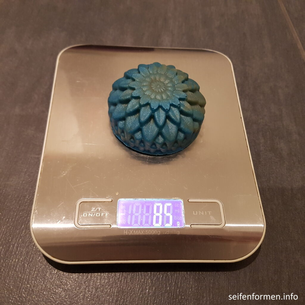 Seife Chrysanthemen Gewicht