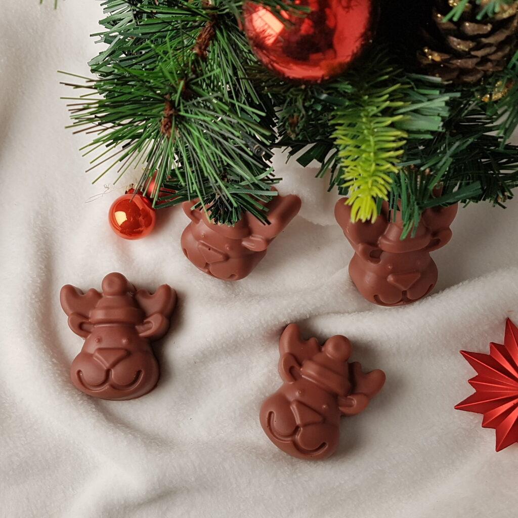 Seifenformen Weihnachten Rentier